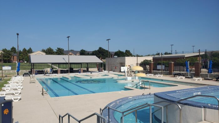 Campus Rec Great Outroars Pool View